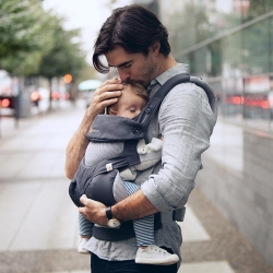 Ergobaby 360, Carbon Grey, Cool Air Mesh