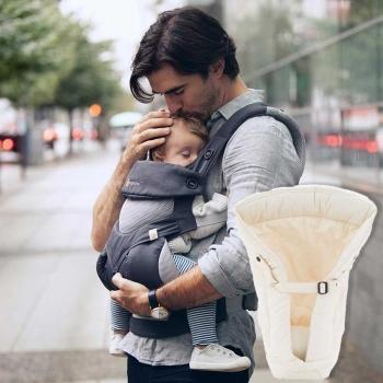 Ergobaby 360 + Infant Insert, Carbon Grey, Cool Air Mesh