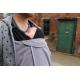Caboo Cocoon ergonomiskās somas vilnas pārklājs