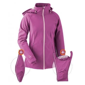 Jaka Softshell Babywearing 3in1 (MAMALILA, pink)