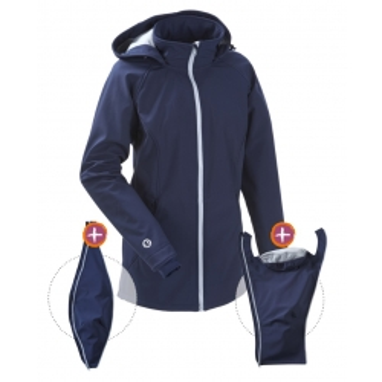 Jaka Softshell Babywearing 3in1 (MAMALILA, navy)