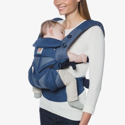 Ergobaby Omni 360 Cool Air Mesh, Blue Blooms